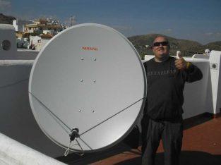 Satellite dish antenna repair & installation@ 77570915