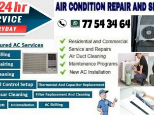 Ac servicing fixing & selling