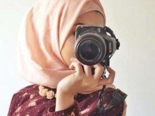 مطلوب مصورة فوتغرافيه لديها دورات في التصوير التلغرافي والتعديل ع الصور من خلال البرامج  باحترافيه