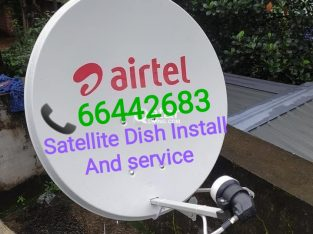 Satellite dish tv installation and sale
